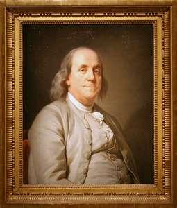 Benjamin Franklin, c. 1780?