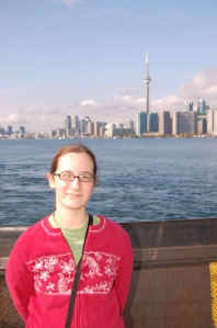 On the ferry back to Toronto