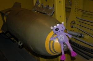 Neville on a bomb! Oh no!