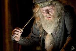 Michael Gambon as Dumbledore, films 3-8.