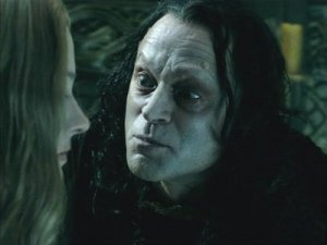 Wormtongue really is a creeper, isn''t he?