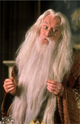 Richard Harris as Dumbledore, films 1-2