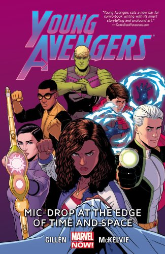 young avengers mic drop at the edge of time and space