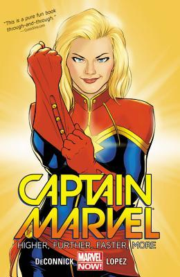 captain marvel higher further faster more
