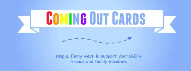 coming out cards