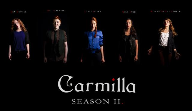 carmilla season two poster