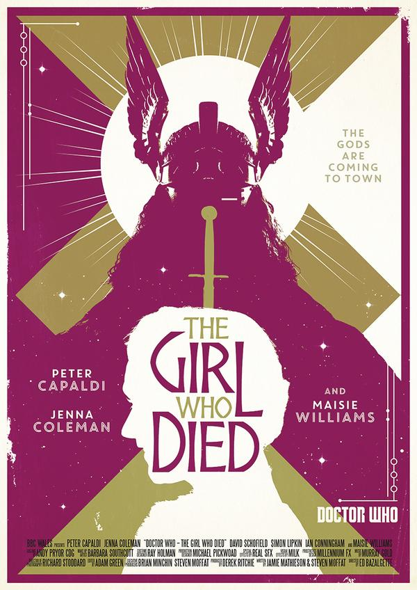 the girl who died poster