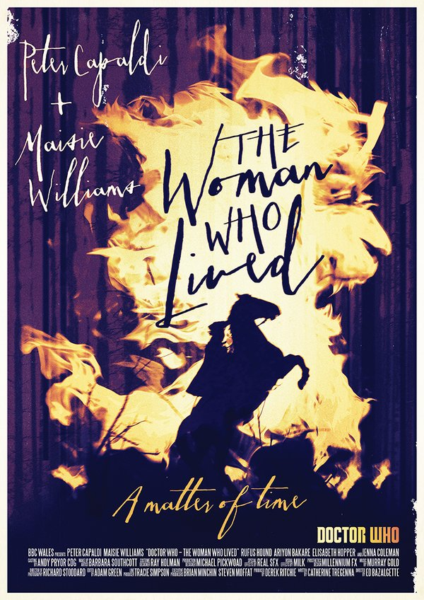 the woman who lived poster