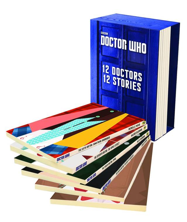 twelve doctors twelve stories boxed set