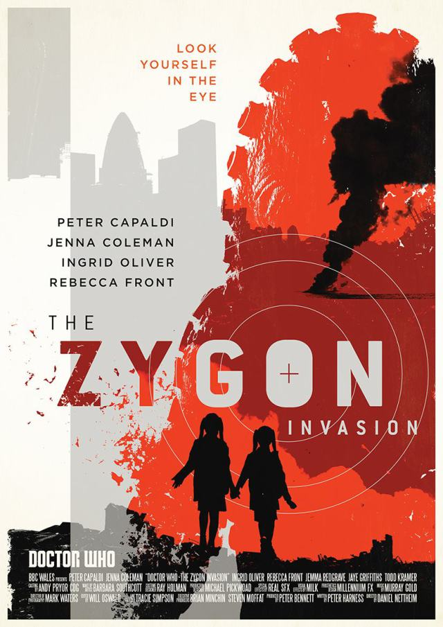 the zygon invasion poster