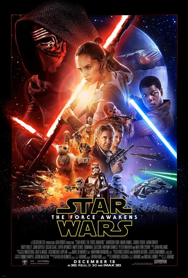 star wars episode vii the force awakens poster