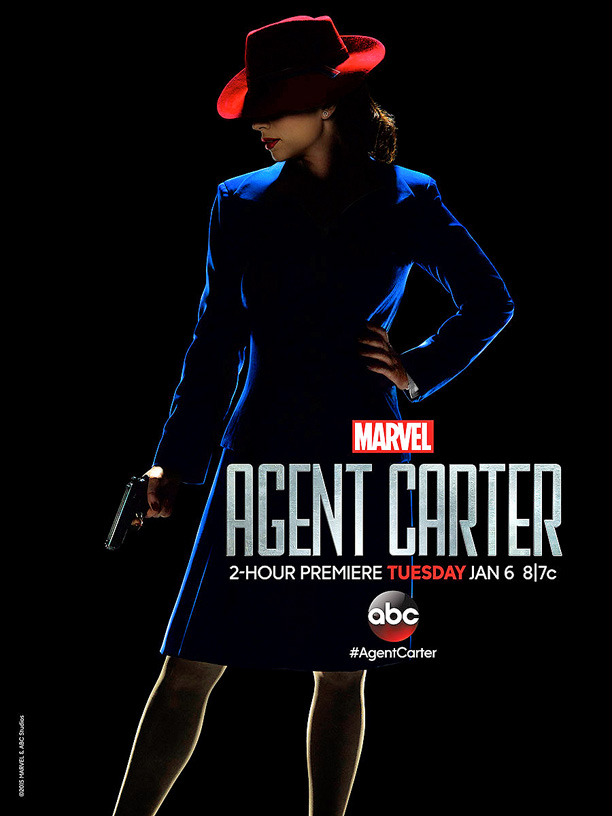 agent carter season one poster