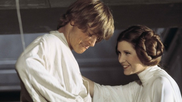 luke and leia -- a new hope